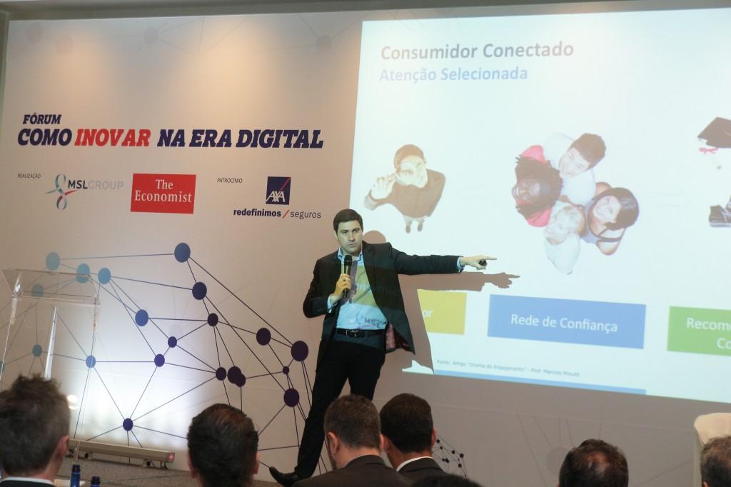 Marcelo Minutti - Palestra Inovação Digital - Evento The Economist