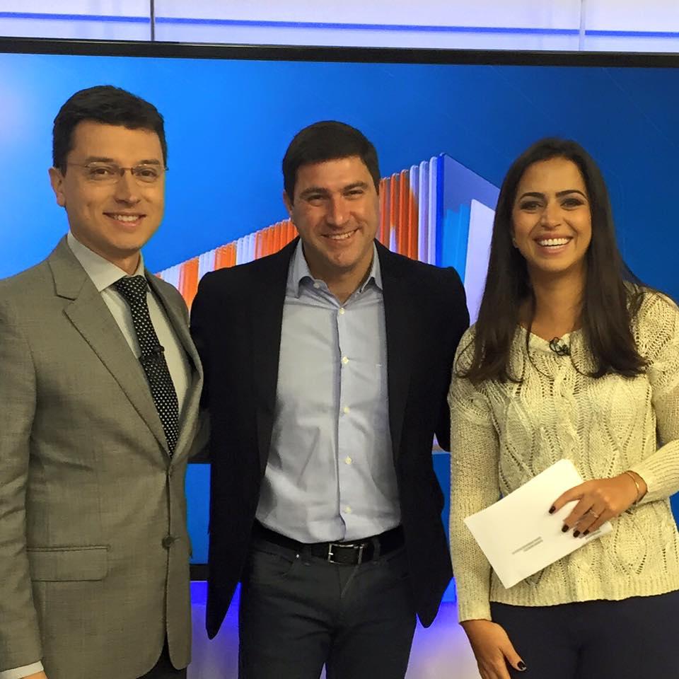 Marcelo Minutti - Economia Colaborativa - Bom Dia DF  - Globo